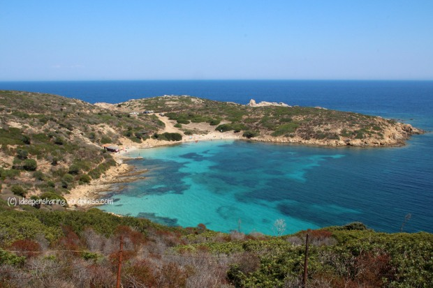 Cala Sabina all'Isola dell'Asinara