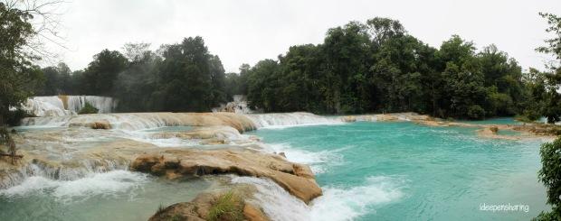 Le cascate di Agua Azul
