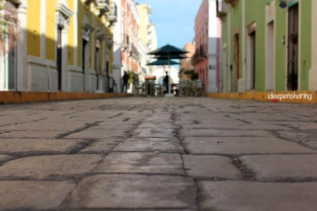Le costruzioni coloratissime di Campeche
