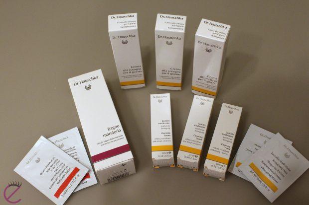 Ecco tutti i prodotti che ho ricevuto di questo marchio