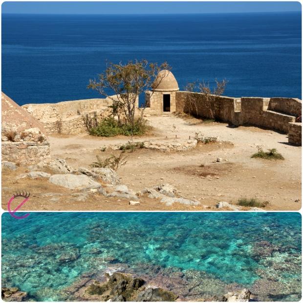 La Fortezza Veneziana di Rethimno e il mare circostante
