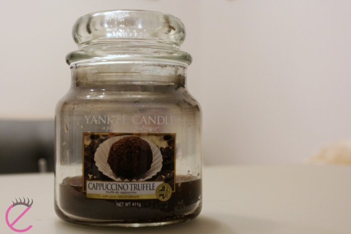 yankee candle cappuccino truffle
